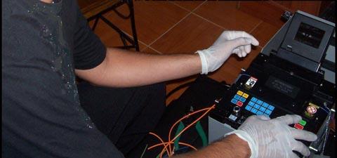 como fusionar fibra optica