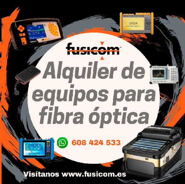 Fusionadora de fibra Óptica FTTH
