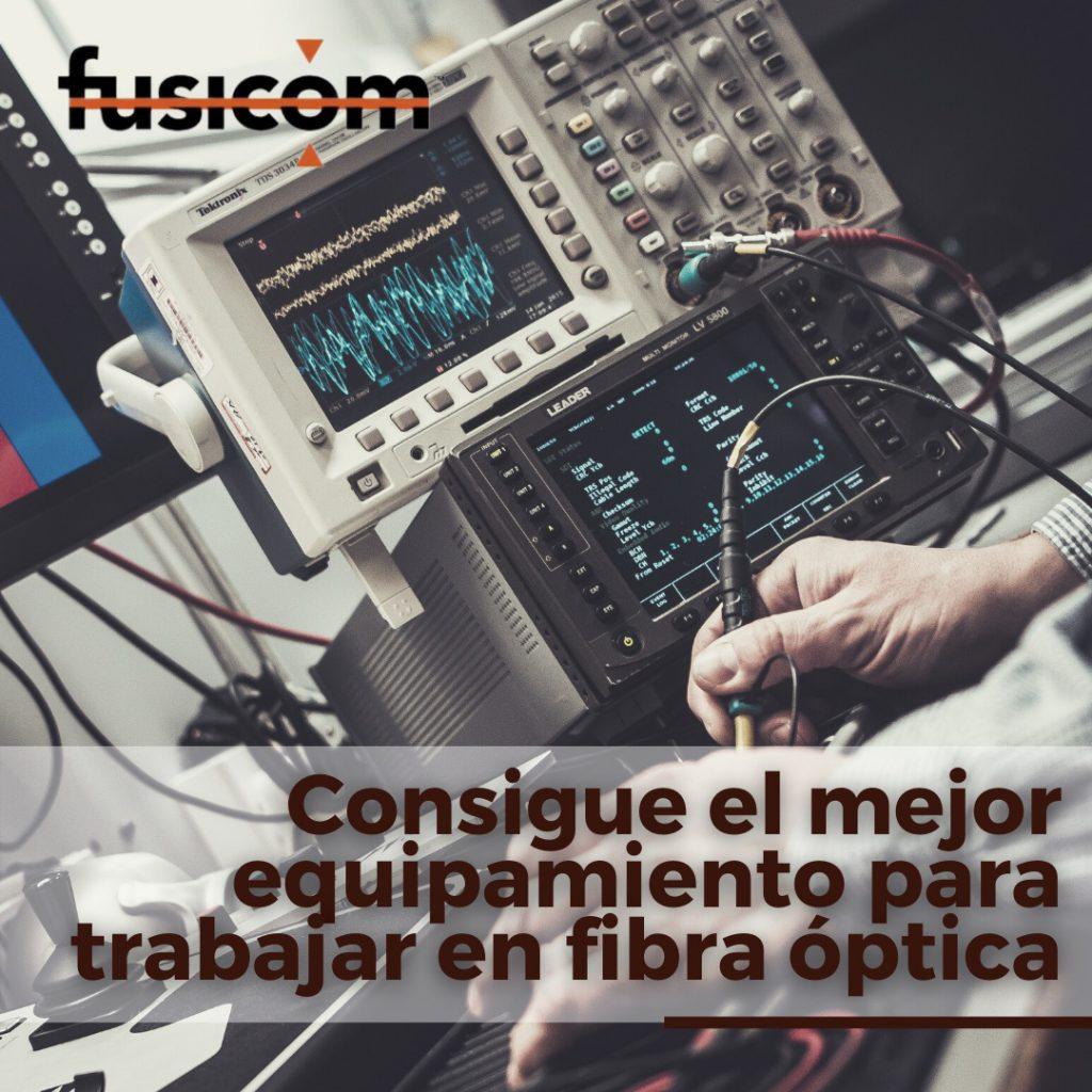 Fusionadoras de Fibra Óptica para Empalme