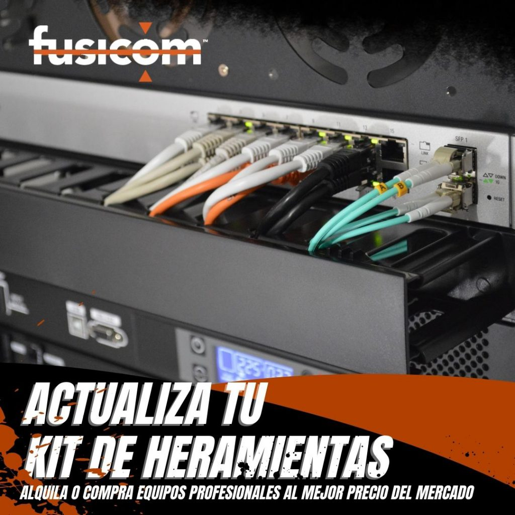 Herramientas y empalmadoras de fibra óptica - Fusicom
